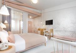 ホテル ラ ラパン ブラン - パリ - 寝室