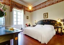 デス エトランジェス ホテル & スパ - シラクーサ - 寝室