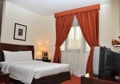 Danat Century Hotel Apartments - アブダビ - 寝室