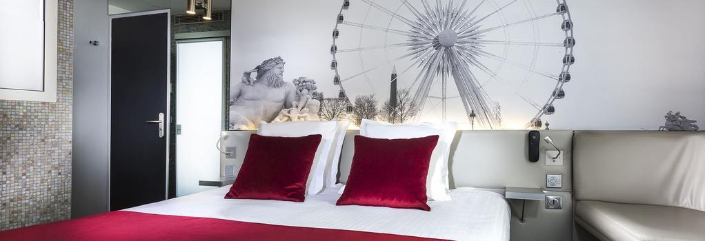 ホテル デュ カドラン - パリ - 寝室