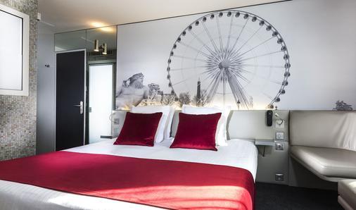 ホテル ドゥ カドラン - パリ - 寝室