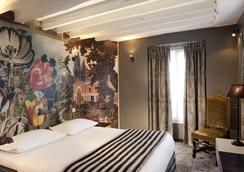 ホテル ル ノートル ダム サン ミッシェル - パリ - 寝室