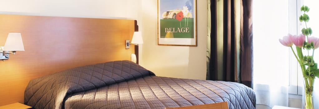 ホテル デュ リオン - パリ - 寝室