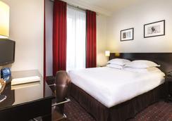 オテル アルブ サン ミッシェル - パリ - 寝室