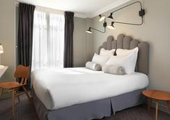 ホテル パラディ - パリ - 寝室