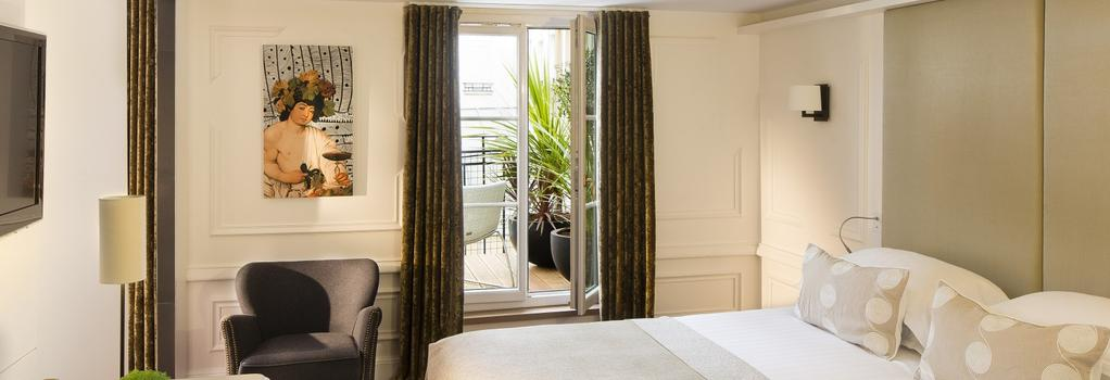ホテル モリエール - パリ - 寝室