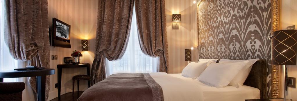 ホテル アレ エッフェル - パリ - 寝室