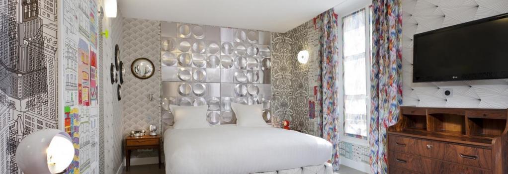 オテル クレヨン バイ エレガンシア  - パリ - 寝室