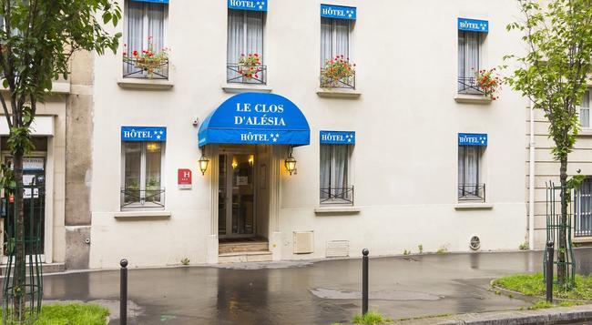 ホテル ル クロ ダレシア - パリ - 建物