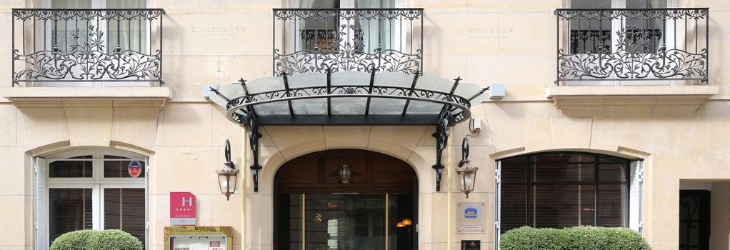 ベストウエスタン プルミエ トロカデロ ラ トゥール - パリ - 建物