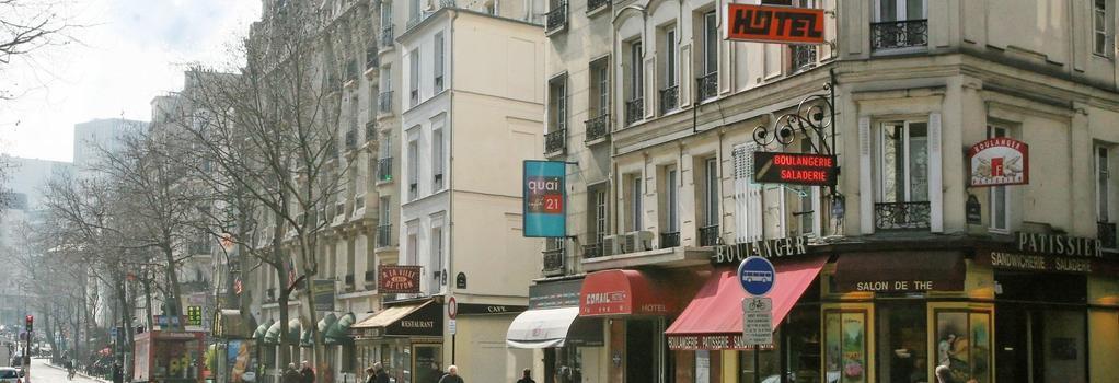 コライユ - パリ - 建物