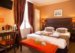 オテル デ ザール - パリ - 寝室