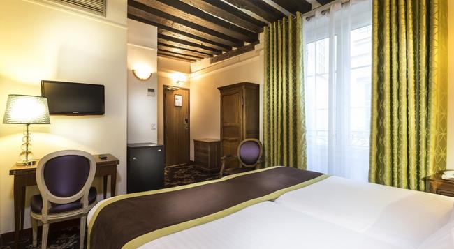 クリスタル ホテル - パリ - 寝室