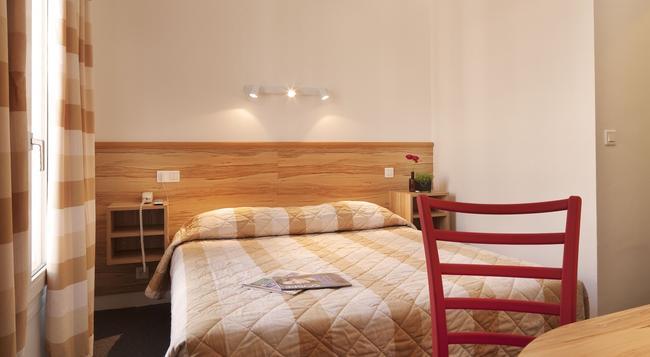 オー パシフィック ホテル - パリ - 寝室