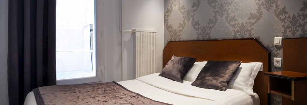 ホテル デュ ブラジル - パリ - 寝室