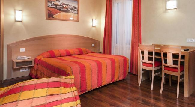 ホテル ド エウローパ ガル デュ ノール - パリ - 寝室