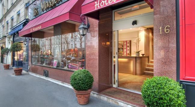 ホテル マセナ - パリ - 建物