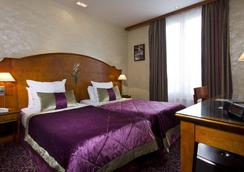 ホテル ミュゲ - パリ - 寝室