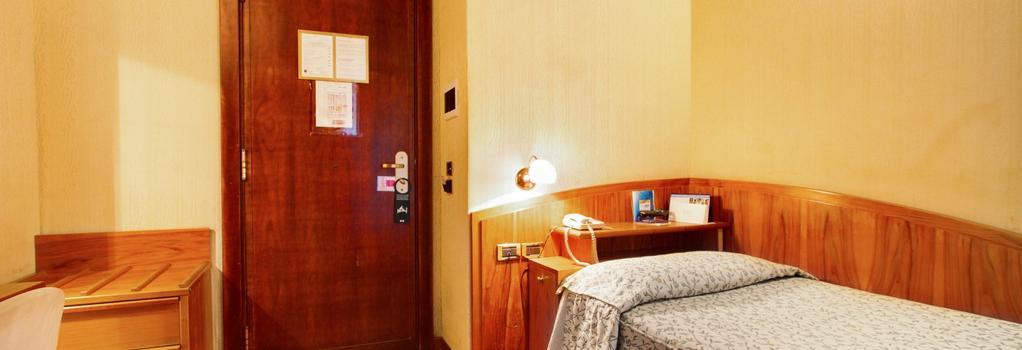 ホテル コロト - ローマ - 寝室