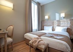 ホテル デュ プランタン - パリ - 寝室