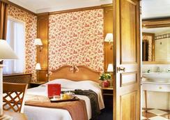 ホテル ドゥ フルーリ - パリ - 寝室