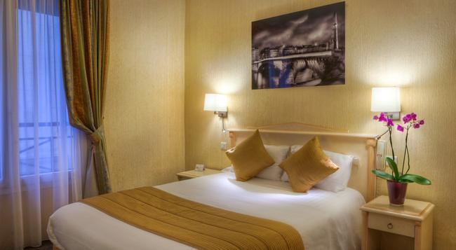 オテル ルーブル サンタンヌ - パリ - 寝室