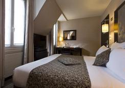 オテル エリーゼ バサノ - パリ - 寝室