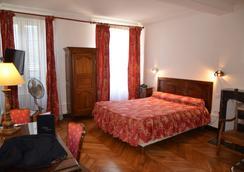 ホテル デ ランパール - ボーヌ - 寝室