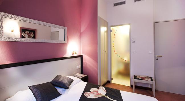 ル ルレ デュ マレ - パリ - 寝室