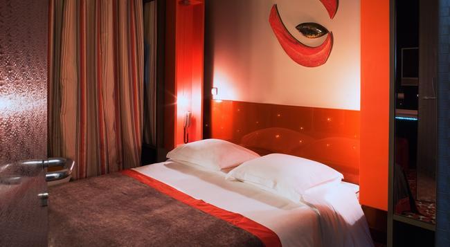 ファイブ ブティック ホテル パリ カルチェ ラタン - パリ - 寝室