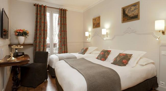 ホテル ドゥ ラ ポルト ドレー - パリ - 寝室