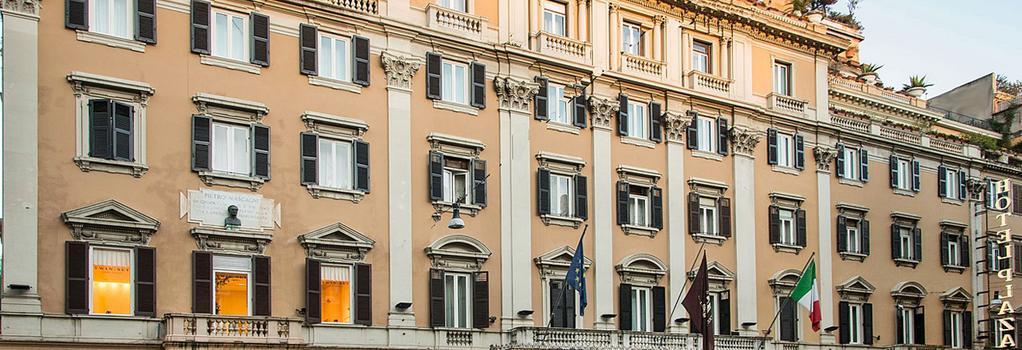 グランド ホテル プラザ - ローマ - 建物