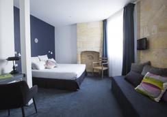 オテル ラ クール カレ - ボルドー - 寝室