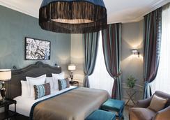 ル サン ホテル パリ - パリ - 寝室
