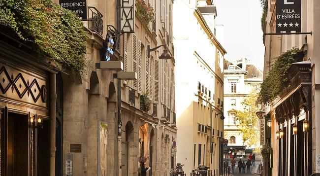 ヴィラ デストレ - パリ - 建物