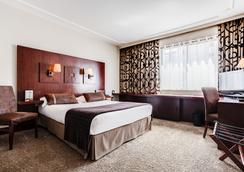 オテル ル ルーズベルト - リヨン - 寝室