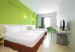 Temasek Hotel - マラッカ - 寝室