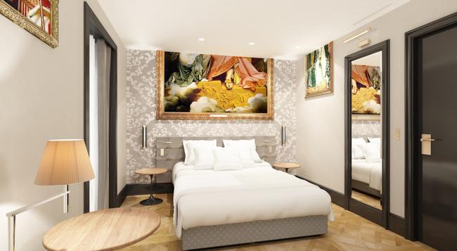 エッフェル プティ ルーヴル - パリ - 寝室