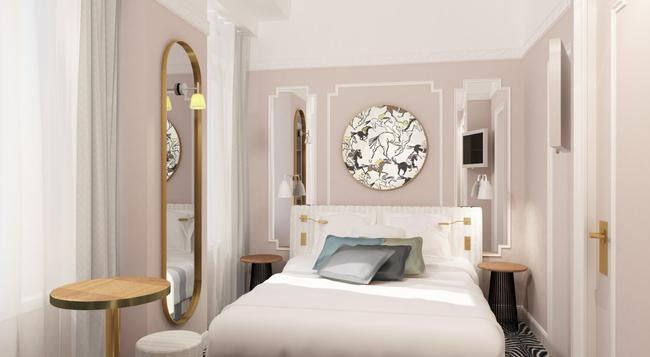 Hôtel Pastel Paris - パリ - 寝室