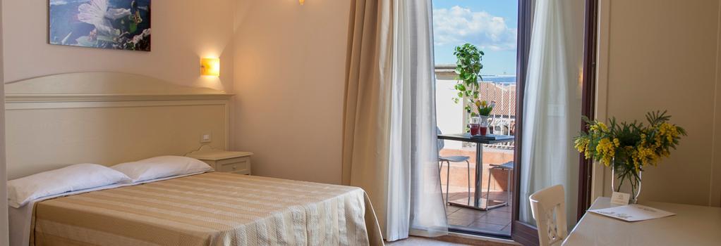 ホテル ル ミューズ - シラクーサ - 寝室