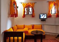 ホテル ダール ムニール - Chefchaouen - 寝室