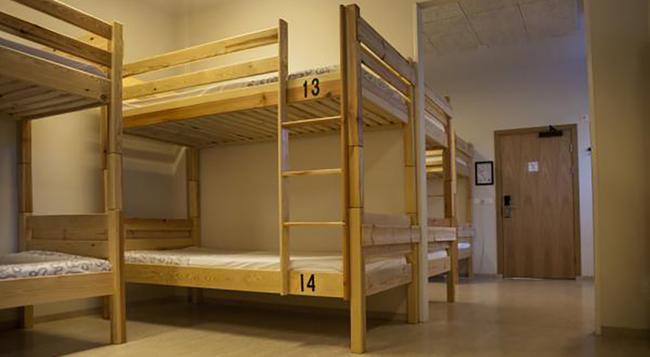 バス ホステル - レイキャヴィク - 寝室