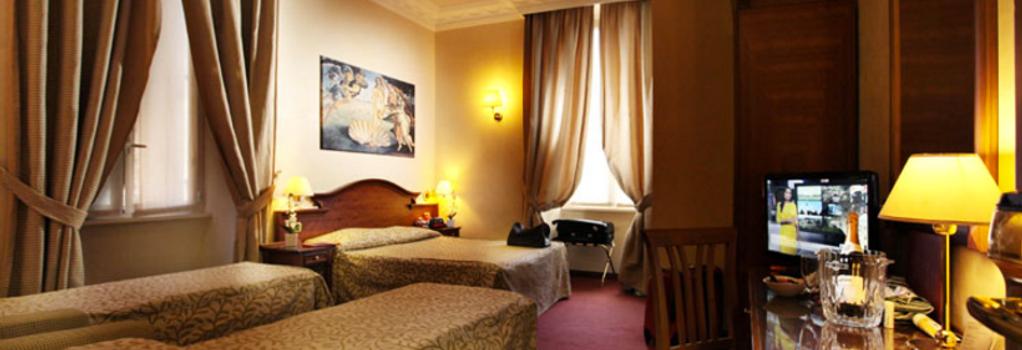 Hotel Solis - ローマ - 寝室