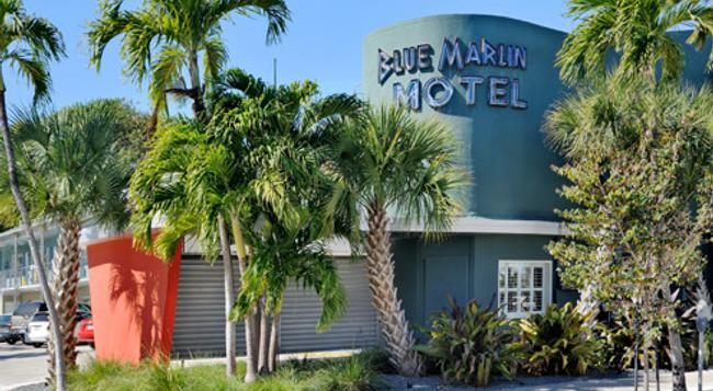 ブルー マーリン モーテル - キー・ウェスト - 建物