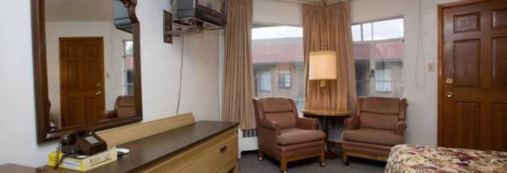 Stagecoach Motel Colorado Springs - コロラドスプリングス - 寝室