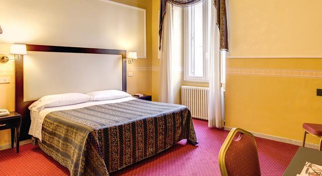 ホテル コンティネンターレ - ローマ - 寝室