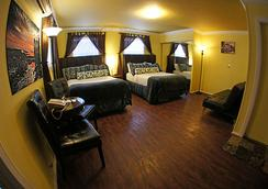ペガサス インターナショナル ホテル - キー・ウェスト - 寝室