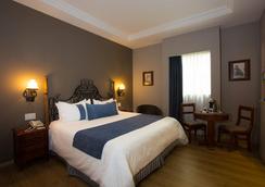 ホテル ゾカロ セントラル - メキシコシティ - 寝室
