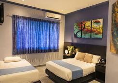 Hotel Del Centro - グアヤキル - 寝室