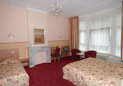 ホテル サンダー - アムステルダム - 寝室